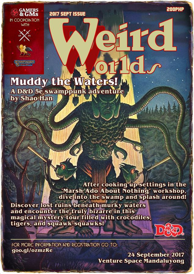 Weird Worlds Retrospective 3: Muddy the Waters!