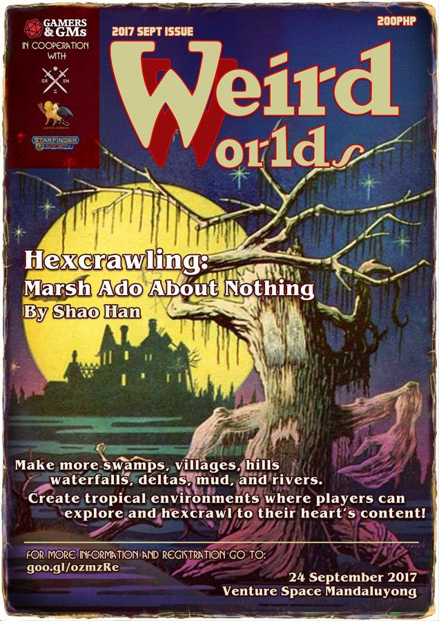 'Weird Worlds' Retrospective: Marsh Ado About Nothing
