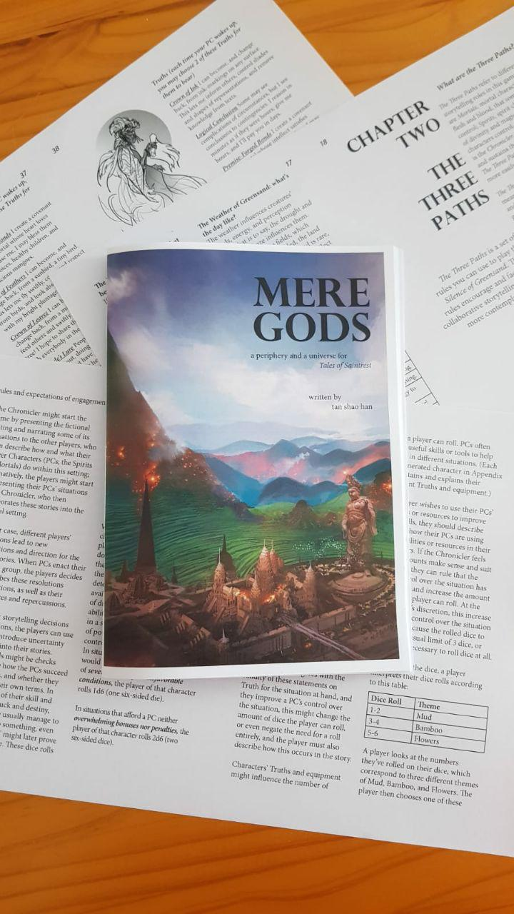 Charsiew Space Reads 'Mere Gods'