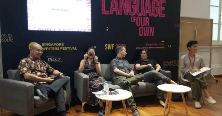 The Curious Chimeras @ 'Gameful Texts', Singapore Writers Festival 2019